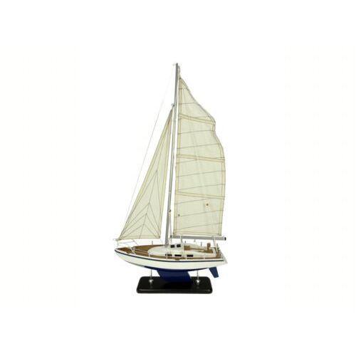 Żaglowiec replika jacht model okręt statek łódź 40x9x63 cm marki Nauticdecor