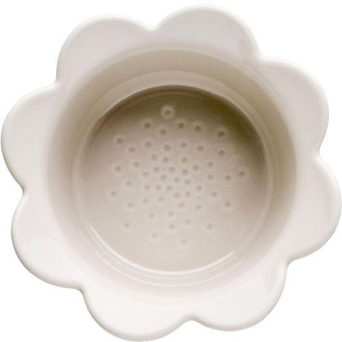 Sagaform Miseczki żaroodporne kwiat - szare piccadilly 2 sztuki (sf-5017322)