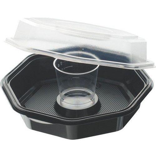 Octaview® ze szklanką | 450/65 | 160x160x60 mm | 360szt. marki Duni