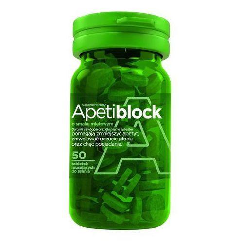 APETIBLOCK smak miętowy 50 tabletek musujących