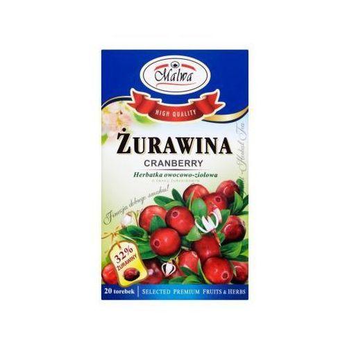 Herbata owocowo ziołowa Żurawina EX'20 Malwa