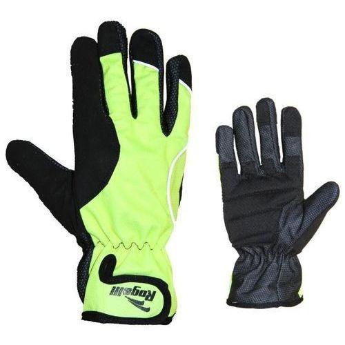 Rękawiczki Rogelli ALBERTA żółto- czarne