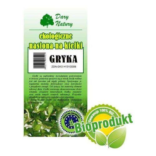 Ekologiczne nasiona na kiełki - Gryka 50g Dary Natury, 0C3F-67857. Najniższe ceny, najlepsze promocje w sklepach, opinie.