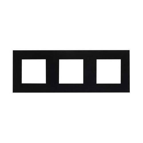 Ramka potrójna Czarny EFAPEL (5603011623838)