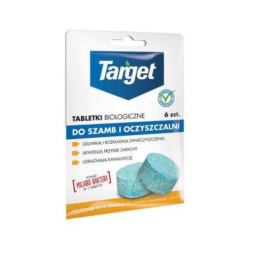 Tabletki biologiczne do szamb i oczyszczalni 6 szt. TARGET, 04567