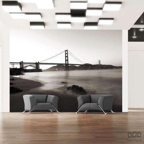 Fototapeta San Francisco: Most Golden Gate w czerni i bieli 100404-15, 100404-15