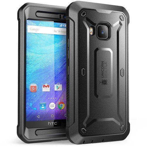 SUPCASE UNICORN BEETLE PRO HTC ONE M9/M9 PRIME CE BLACK z kategorii Futerały i pokrowce do telefonów