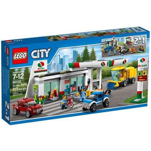Lego CITY Stacja benzynowa 60132. Najniższe ceny, najlepsze promocje w sklepach, opinie.