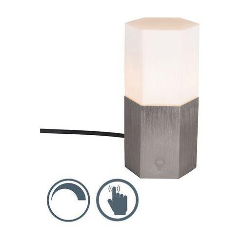 Lampa stołowa Hexagon stalowa