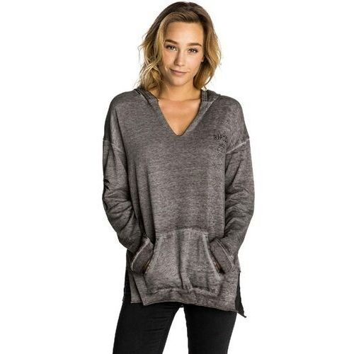 Rip curl Bluza - shine down pullover hoodie dark grey heate (3234) rozmiar: s