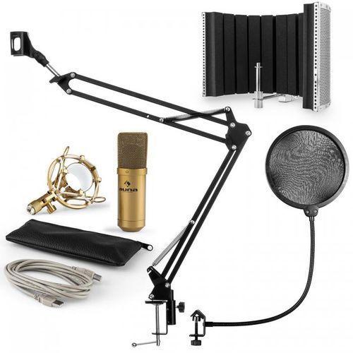 Mic-900g usb zestaw mikrofonowy v5 mikrofon pop filtr osłona i ramię steruj marki Auna