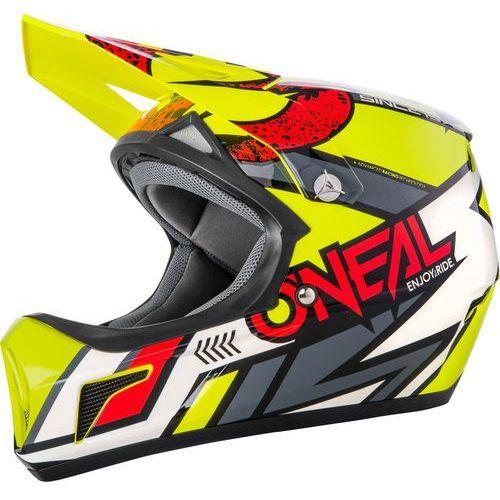 Oneal sonus strike kask rowerowy żółty/kolorowy xs | 53-54cm 2018 kaski rowerowe (4046068510057)