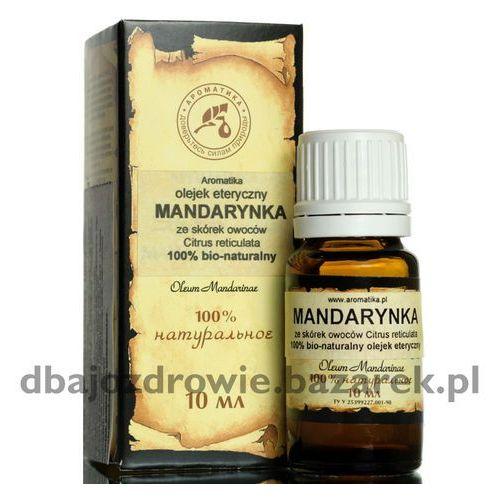 Olejek mandarynkowy (mandarynka), , 100% naturalny 10 ml marki Aromatika