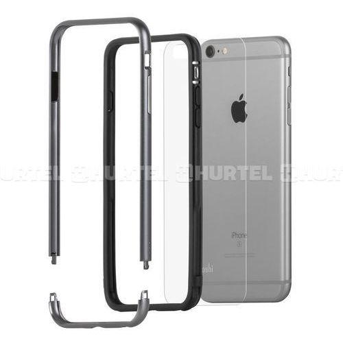 Moshi iGlaze Luxe - Aluminiowy bumper iPhone 6s Plus / iPhone 6 Plus (Titanium Grey), 99MO080204