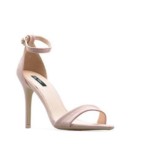 Arturo Stylowe sandały damskie różowe szpilki