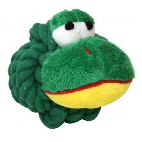 Happypet żabka ze sznura 9cm (0701029157866)