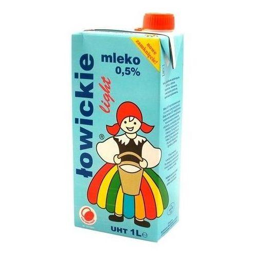 Mleko ŁOWICKIE 1l. 0,5% (nabiał)
