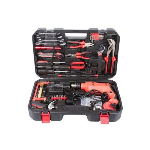 Zestaw narzędzi hobby w walizce z wiertarką elektryczną marki B2b partner