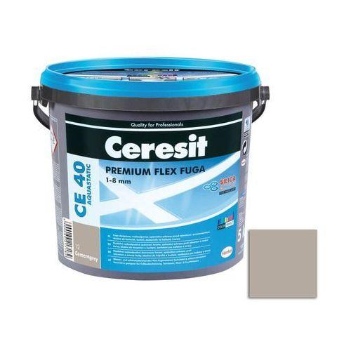 Fuga cementowa WODOODPORNA CE40 ciemny szary 5 kg CERESIT (5900089217182)