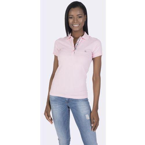 f6287b91bbe5ba Damskie koszulki polo · Giorgio Di Mare koszulka polo damska L różowy, kolor  różowy