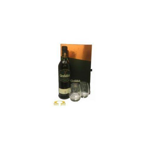 Whisky glenfiddich 12yo 0,7l + dwie szklanki marki William grant & sons