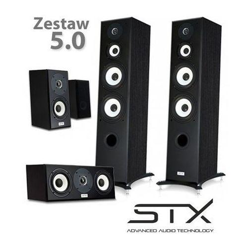 Zestaw kolumn kina domowego electrino - 5.0 marki Stx