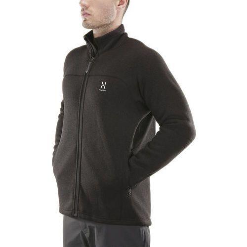 swook kurtka mężczyźni czarny l 2018 kurtki polarowe marki Haglöfs