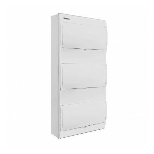 Rozdzielnica natynkowa FALA N+PE drzwi obudowa białe RN-36/B 7.16 Elektro-Plast 5627 (5905548285627)