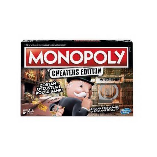 Gra monopoly cheaters edition - darmowa dostawa od 199 zł!!! marki Hasbro