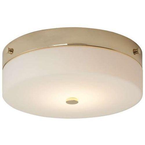 Plafon lampa sufitowa tamar bath/tam/f/l pg okrągła oprawa klasyczna łazienkowa ip44 złota biała marki Elstead