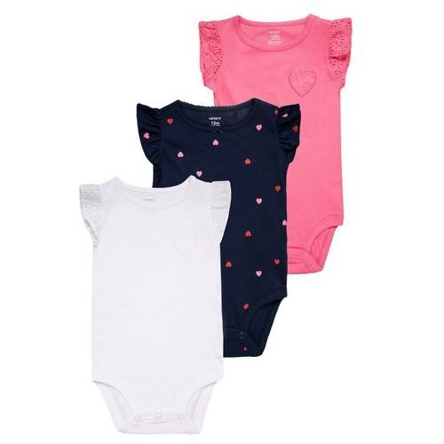 Carter's LITTLE COLLECTIONS HEART BABY 3 PACK Body multicolor