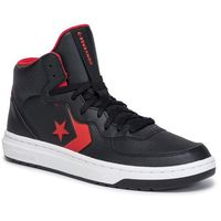 Sneakersy - rival mid 164889c black/enamel red/white, Converse, 40-40.5