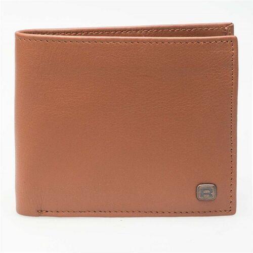Reell Portfel - button leather cognac (cognac) rozmiar: os