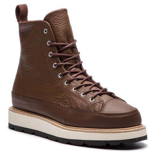 Kozaki CONVERSE - Ct Crafted Boot Hi 162354C Chocolate/Light Fawn/Black