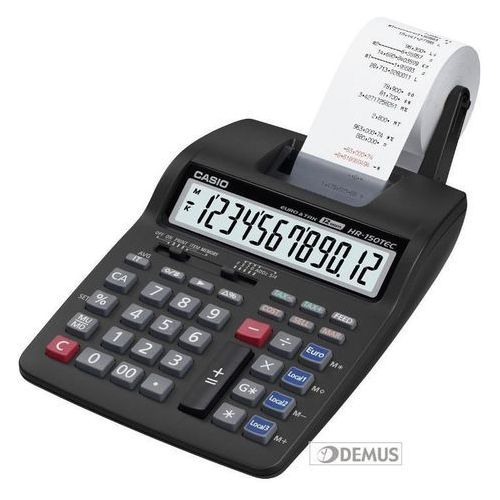 Casio Kalkulator z drukarką hr-150tec. Najniższe ceny, najlepsze promocje w sklepach, opinie.