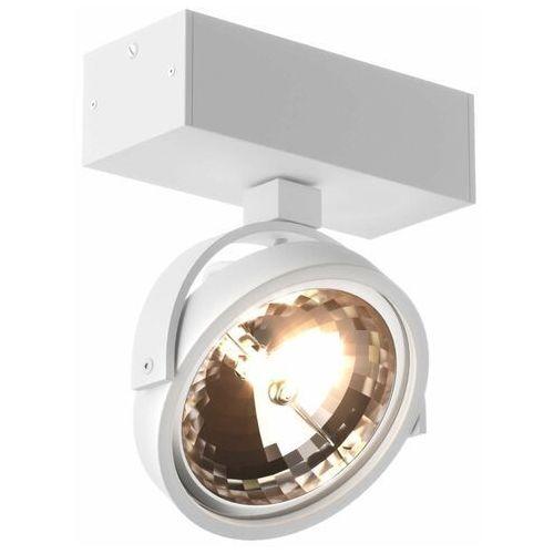 Spot lampa sufitowa go sl1 89962-g9 zumaline metalowa oprawa ścienna okrągły reflektor biały marki Eglo