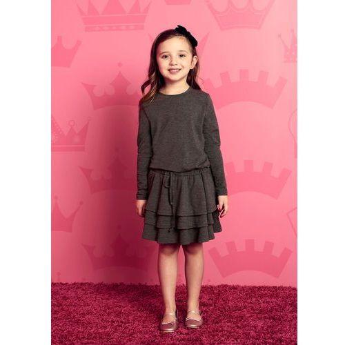 Sukienka darcy mini w kolorze grafitowym, Sugarfree