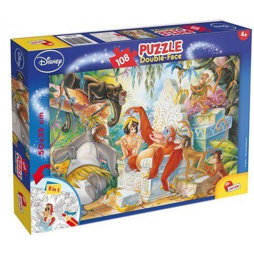 Puzzle 108 Dwustronne Maxi Ksiega dżungli (8008324048045)