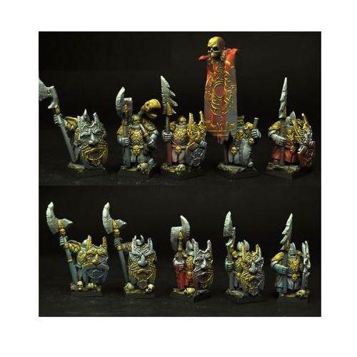 Scibor 28ma0057 - dark guards evil dwarves [10 miniatures] 28mm marki Scibor miniatures