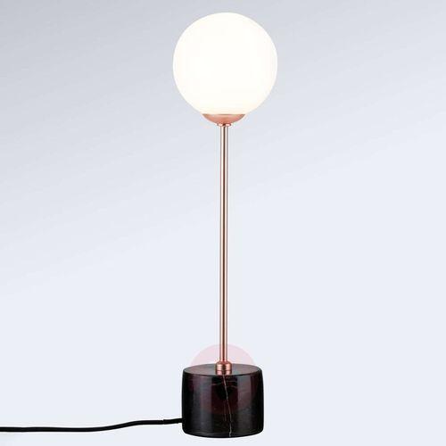 Paulmann Lampa stołowa moa z kulistym szklanym kloszem
