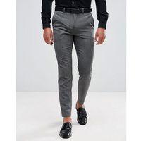 tapered trouser in marl - grey, Burton menswear
