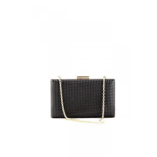 Wieczorowa torebka z błyszczącym wzorem na łańcuszku - marki Nobo