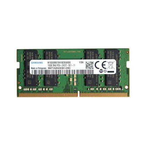 Pamięć RAM 1x 16GB SAMSUNG SODIMM DDR4 2400MHz PC4-19200S | M471A2K43CB1-CRC