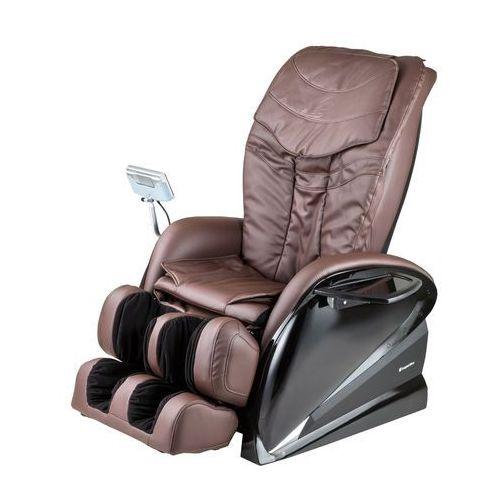 Fotel do masażu sallieri czarny - kolor ciemny brązowy marki Insportline
