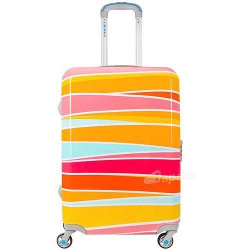 Bg berlin urbe średnia walizka na 4 kółkach / 67 cm / cross colors - wielokolorowy