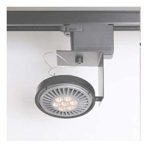 Shilo Reflektorowa lampa sufitowa sakura 6607/g53/sz metalowa oprawa do systemu szynowego 3-fazowego szary