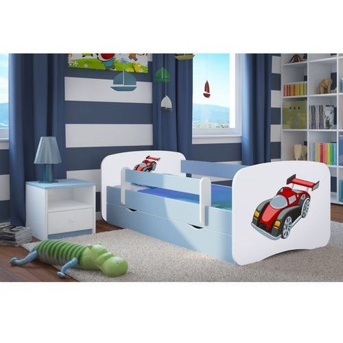 Łóżko dziecięce babydreams auto wyścigowe kolory negocjuj cenę marki Kocot-meble