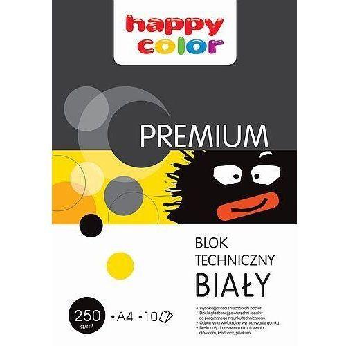 Blok techniczny biały A3 Happy Color, WIKR-945433
