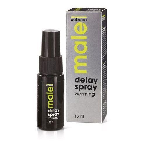 Male Delay Spray Warming 15 ml | 100% DYSKRECJI | BEZPIECZNE ZAKUPY