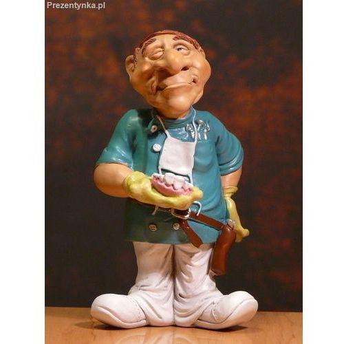 Figurka Dentysta ze szczęką Protetyk